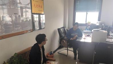 许昌市人才引进与技术转移服务平台走访许昌市众多企业