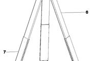 一种液面感应自动调平测量仪支架