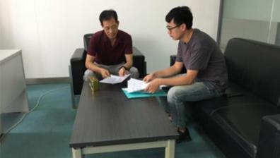 平臺走訪企業,助力企業創新發展之桂林