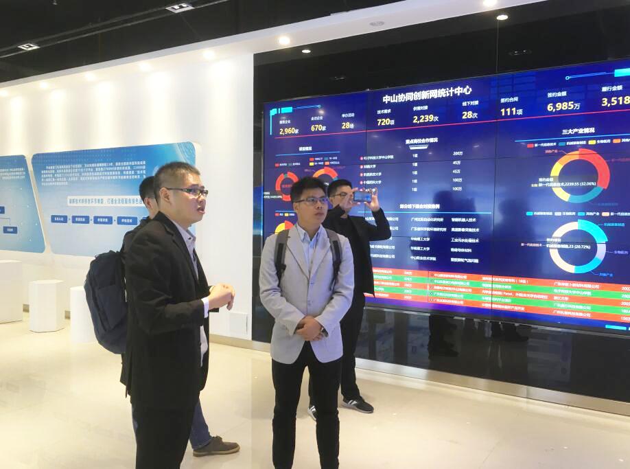 廣東高校科技成果轉化中心到訪中心