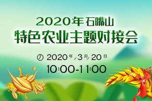 2020年特色农业主题对接会