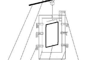 一种钢板低成本快速涂塑设备