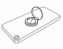 带指南针的手机指环支架专利项目转让
