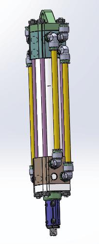潜置式深海节能液压抽油机