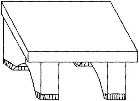一种可以组装成凳子的饮料瓶(玩具饮料瓶)