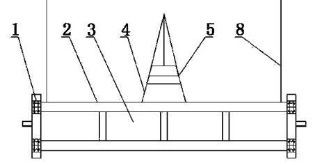 一种用于水利枢纽平面闸门测试钢梁