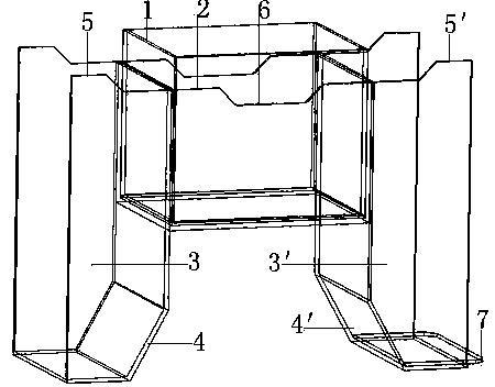 一种鼎形展示盒