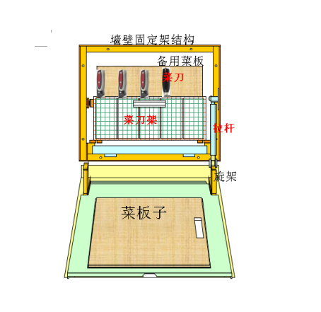 专利产品平面结构示意图