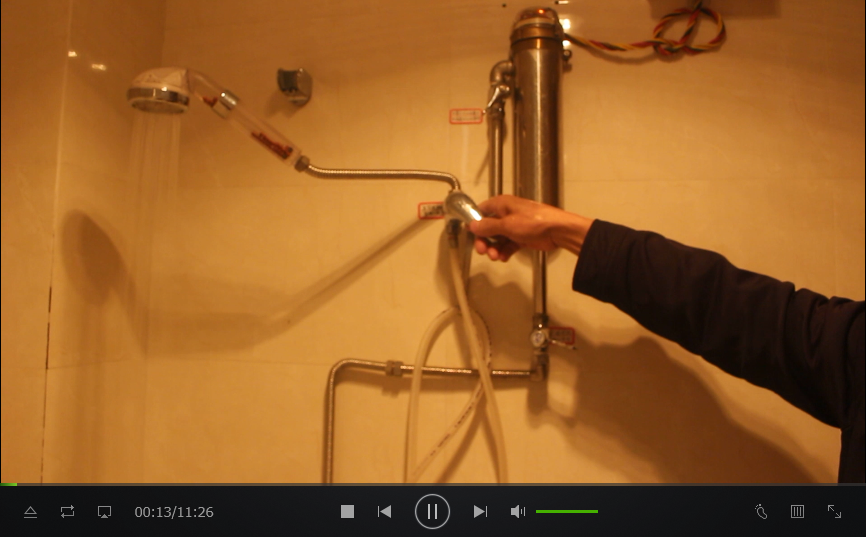 简单实用型微型热水器