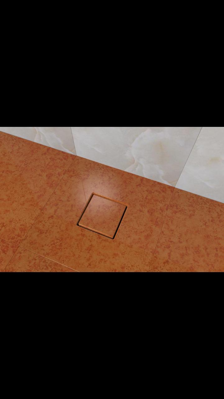 卫生间地漏安装效果图