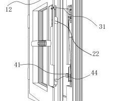 一种自动窗户开关方法以及自动关窗结构