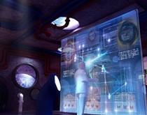 微光学元件与光开学集成循环光交换模块及控制方法
