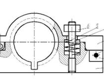 液化气钢瓶底座的焊接夹具