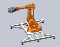 一种机械手可旋转的搬运机器人