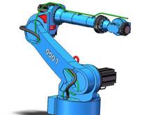 一种小臂可摆动的六轴机器人