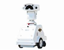 一种底部设有一对底座体的机器人