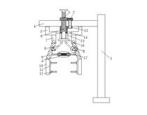 一种机械自动化具有双重固定效果的机械手