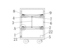 一种电气电力工具分类安全存放柜
