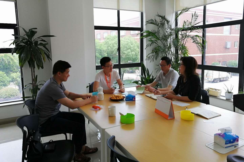 浙江农林大学与浙江映山红纺织科技有限公司进行技术难题对接