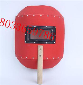 电焊面罩手把式防溅防烤脸滤光手持式焊工面具手把防护面罩