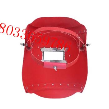 电焊面罩手把式包边电焊面罩手持式电工电焊面具钢纸面罩