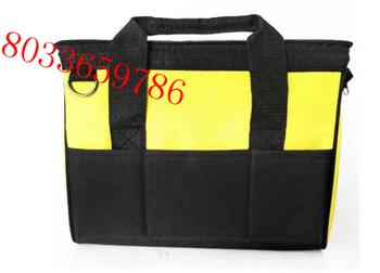 工具包斜跨手提两用牛津布16寸电工牛津布工具袋电工背包