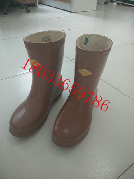 绝缘靴AC35kV防护安全靴绝缘靴高压耐高温劳保电工靴
