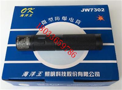 海洋王手电筒JW7302充电头盔灯消防佩带式防爆照明手电jw7302