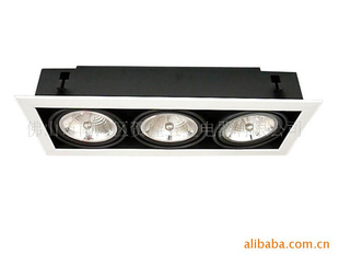 厂价豆胆灯,豆胆灯外壳、供应AR111三头豆胆灯
