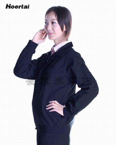 深圳市豪尔泰长袖夹克工作服HCJ1308-1