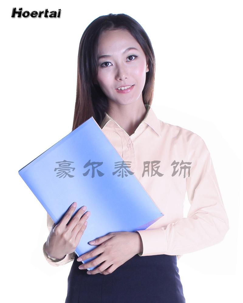 豪尔泰服饰长袖衬衫工作服HCC1301-23