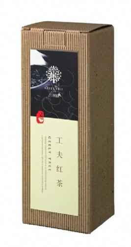 吉利树工夫红茶瓦楞纸