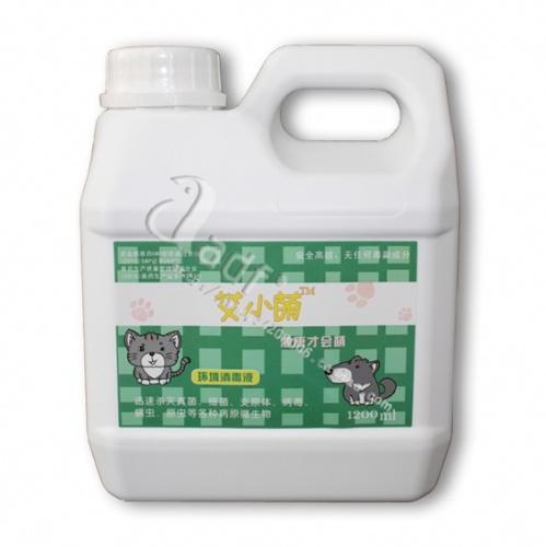 艾小萌环境消毒液,用于犬场、宠物医院、宠物家庭环境消毒