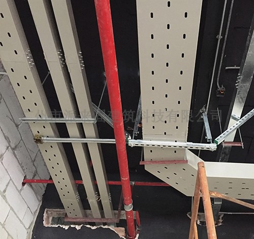 抗震支架的市场发展前景 派来固机电抗震支吊架的应用