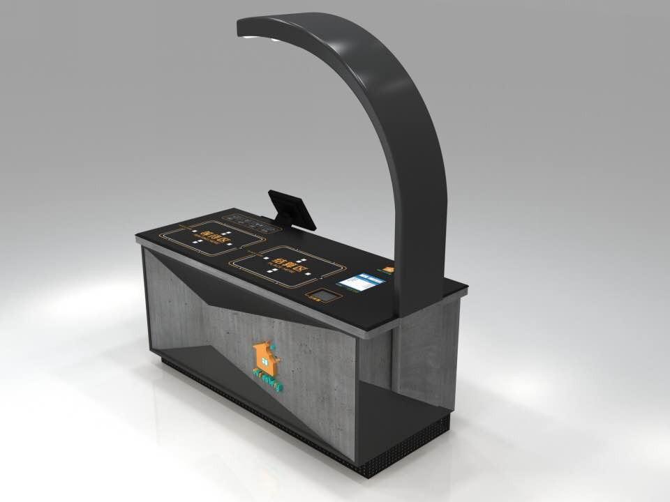 朴食科技 | 食堂视觉收银结算台