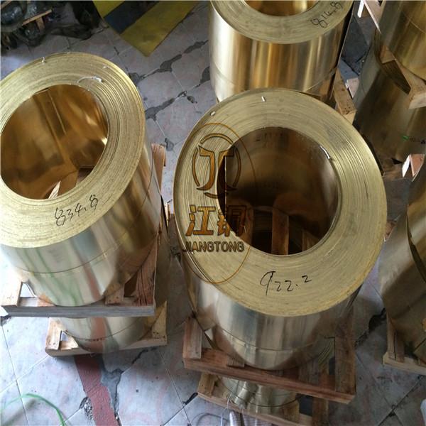 H62黄铜带价格走势 CuZn36黄铜带报价