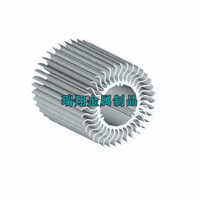 抗压型散热器铝型材,铝合金散热片挤压定制