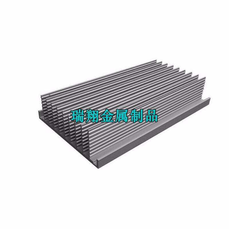 梳子散热器铝型材厂家,梳子铝合金散热片挤压加工