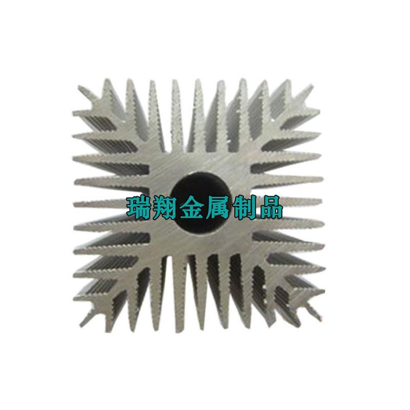 太阳花铝合金散热器厂家,太阳花铝合金挤压加工