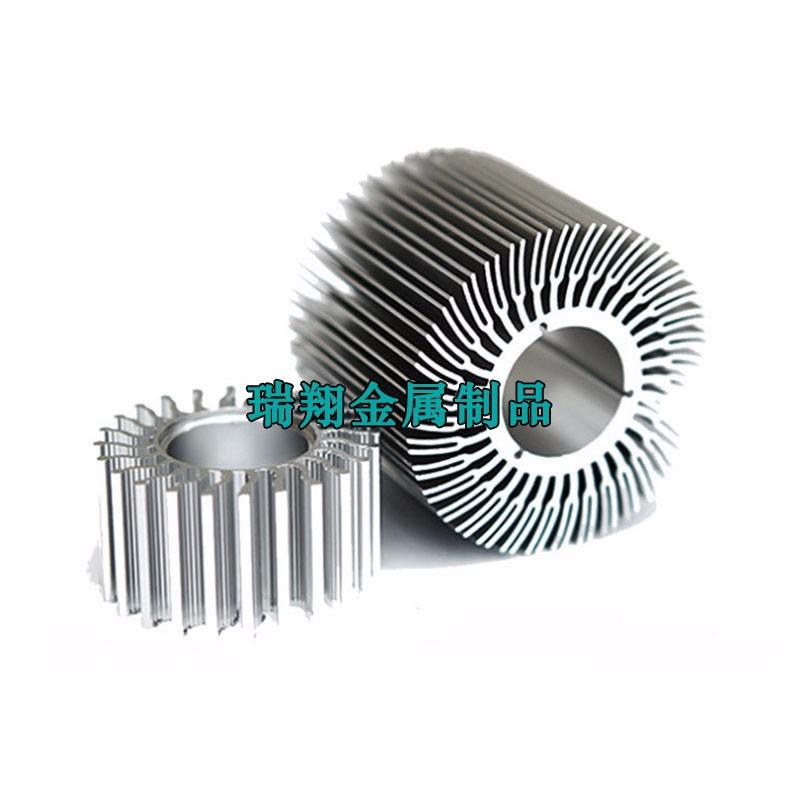 太阳花散热器铝型材厂家,太阳花铝型材挤压厂家