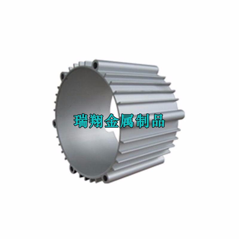 铝合金电机外壳 挤压发电机壳体 新能源电机壳