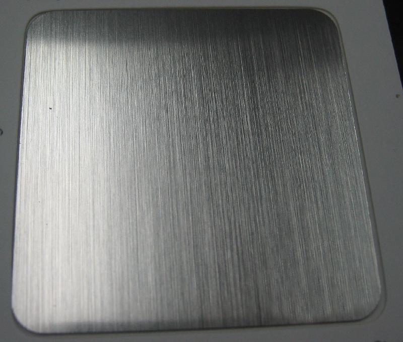 厂家304不锈钢拉丝板 规格齐全可定制加工
