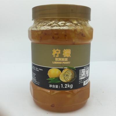 鲜活柠檬茶酱 鲜活蜂蜜花果茶 优果C果酱