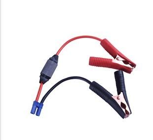 汽车应急电源充电线,鳄鱼夹充电线,EC5充电线