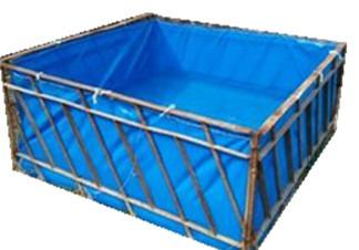 养鱼水箱帆布防水布鱼池专用防晒简易水池养鱼鱼池帆布鱼池防漏