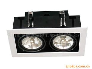 诚招商业照明代理商、厂价豆胆灯外壳、豆胆灯、AR70二头
