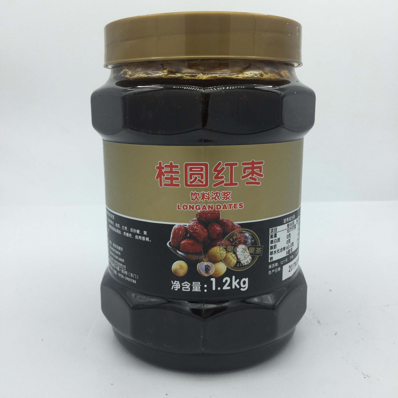 鲜活桂圆红枣茶酱 鲜活蜂蜜花果茶 优果C果酱