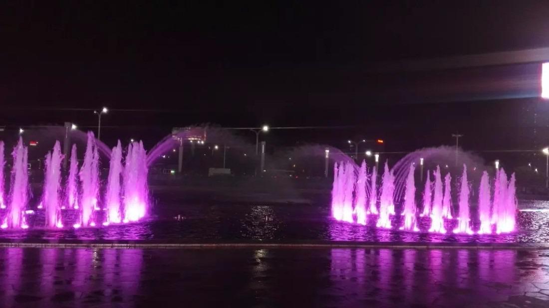 幕影水景,大型广场音乐喷泉,水景的舞蹈