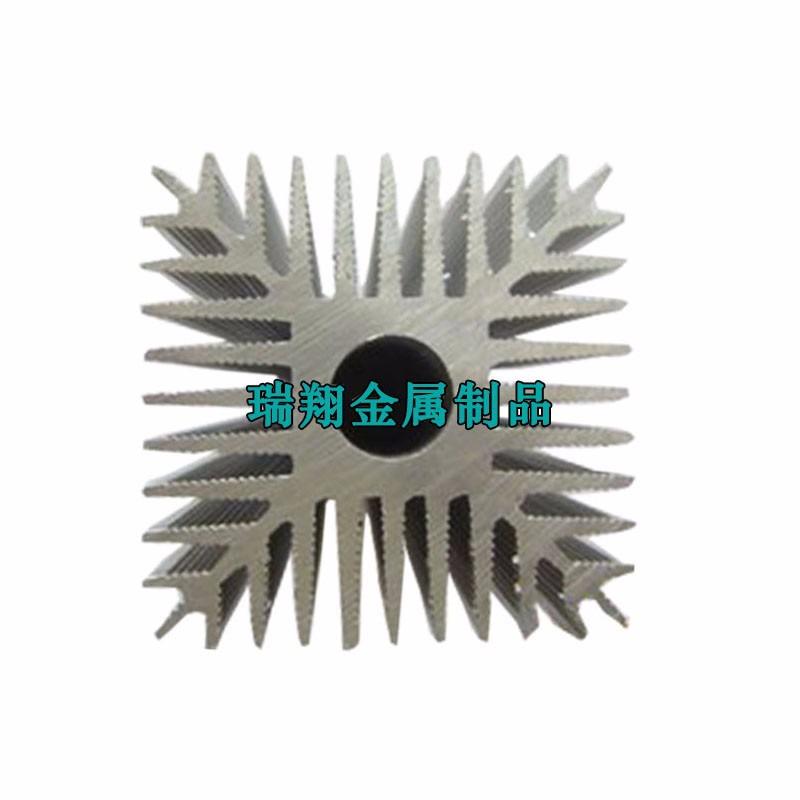佛山定制电子散热器,铝合金散热器挤压型材