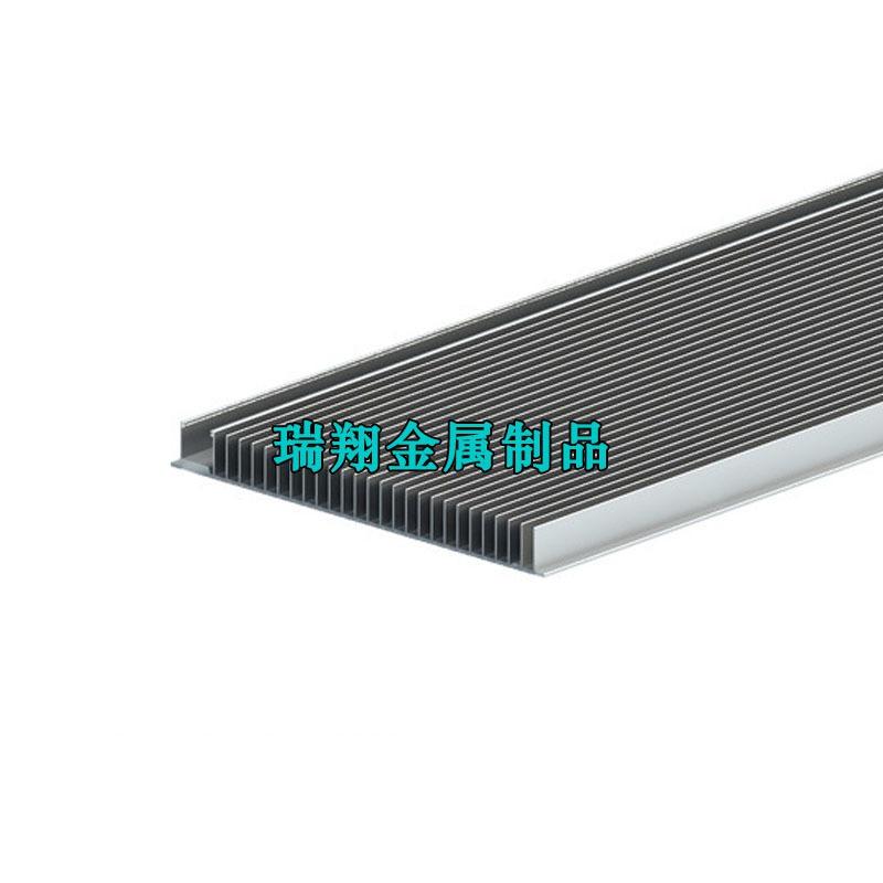 高密齿梳子散热器铝型材,铝合金密齿散热器厂家